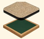 laminated commercial wood table tops